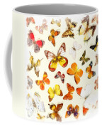 Butterflies Square Coffee Mug