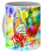 Butterfly Abstracted Coffee Mug