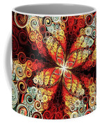 Butterfly And Bubbles Coffee Mug by Anastasiya Malakhova