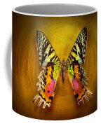 Butterfly - Butterfly Of Happiness  Coffee Mug by Mike Savad