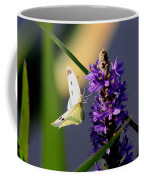 Butterfly - Cabbage White Coffee Mug