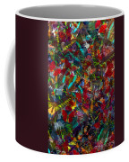 Butterfly Collage Red Coffee Mug