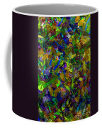 Butterfly Collage Yellow Coffee Mug