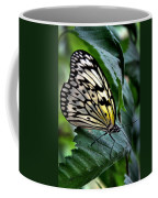 Butterfly - Green Leaf Coffee Mug