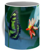 Butterfly In Flight Coffee Mug