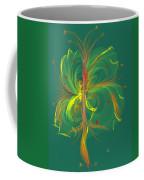 Butterfly In Green Coffee Mug