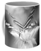 Butterfly In Motion #1961bw Coffee Mug