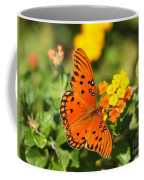 Butterfly In The Glades - Gulf Fritillary Coffee Mug