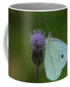 Butterfly In White 2 Coffee Mug