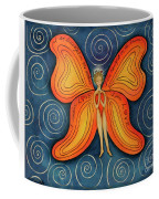 Butterfly Mantra Coffee Mug