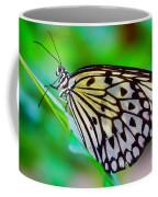 Butterfly On A Leaf Coffee Mug