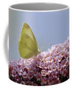 Butterfly On Buddleia Coffee Mug