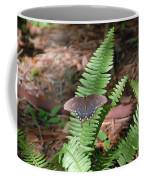 Butterfly On Fern Coffee Mug