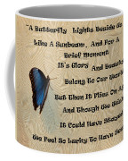 Butterfly Poem Coffee Mug