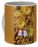 Butterfly Resting On Mums Coffee Mug