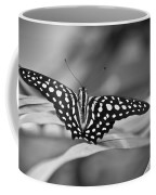 Butterfly Resting Coffee Mug