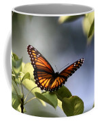 Butterfly -  Soaking Up The Sun Coffee Mug