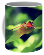 Butterfly Taking The High Ground Coffee Mug