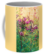 Butterfly Wildflower Coffee Mug