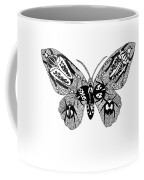 Butterfly With Design Coffee Mug