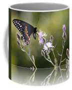 Butterfly With Reflection Coffee Mug