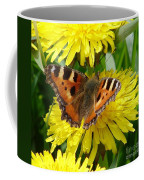 Butterfly Yellow Coffee Mug