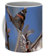 Butterfy In Almond Blossoms   #9289 Coffee Mug