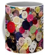 Buttons 678 Coffee Mug
