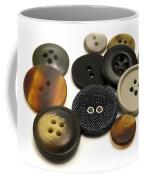 Buttons Coffee Mug by Fabrizio Troiani