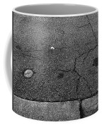 Buttons On The Concrete Coffee Mug