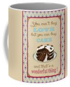 Buy Cake Typography Coffee Mug