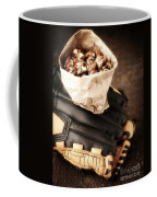 Buy Me Some Peanuts And Cracker Jack Coffee Mug by Edward Fielding