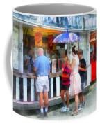 Buying Ice Cream At The Fair Coffee Mug