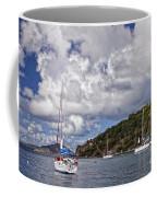 Bvi Clouds Coffee Mug