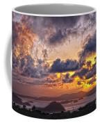 Bvi Sunset   Coffee Mug