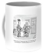 By Jove, You've Got It! Unprofessional, Clingy Coffee Mug