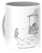 By Jupiter, An Angel! Or, If Not, An Earthly Coffee Mug