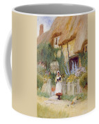 By The Cottage Gate  Coffee Mug