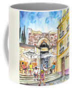 By The Old Cathedral In Cartagena 01 Coffee Mug