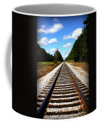 Never Ending Tracks Coffee Mug