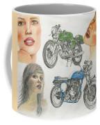 Bykes And Byrds 1 Coffee Mug