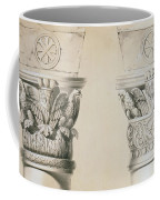 Byzantine Capitals From Columns In The Nave Of The Church Of St Demetrius In Thessalonica Coffee Mug