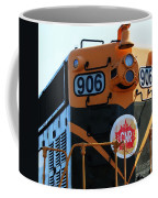 C N R Train 906 Rustic Coffee Mug