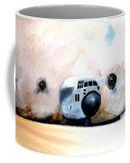 C130 Landing In A Sandstorm Air Force Military Coffee Mug