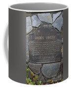 Ca-505 Almaden Vineyards Coffee Mug