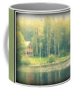 Cabin By The Lake Coffee Mug