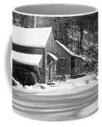 Cabin Fever In Black And White Coffee Mug