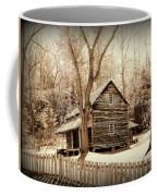 Cabin In Cades Cove Coffee Mug