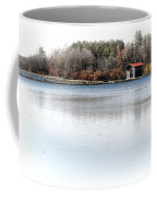 Cabin On A Lake Coffee Mug