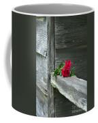 Cabin Rose Coffee Mug